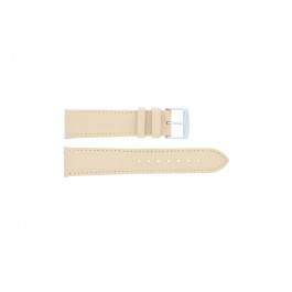 Bracelet de montre Universel 283.30 Cuir Beige 24mm