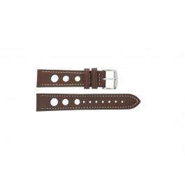 Bracelet de montre Universel 682R.02 Cuir Brun 20mm