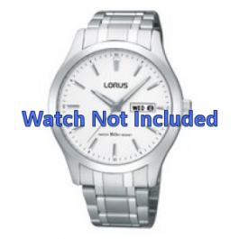 Lorus bracelet de montre VX43-X074 Métal Argent 20mm