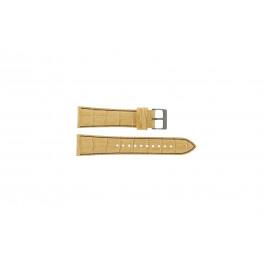 Bracelet de montre Seiko 7T92-0NK0 / SNDD69P1 / L08C012N0 Cuir Brun clair 22mm