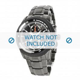 Seiko bracelet de montre SNAB53P1 / 7T62-0HL0 / SNAB53J1 Métal Gris 24mm