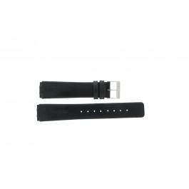 Bracelet de montre Skagen 433LSLC Cuir Noir 18mm