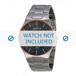 Bracelet de montre Skagen SKW6076 Titane Acier 25mm