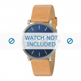 Skagen bracelet de montre SKW6279 Cuir Cognac 22mm