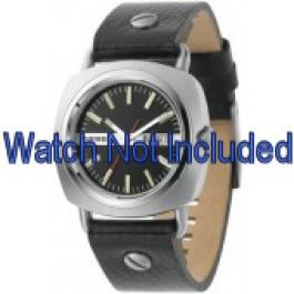 Bracelet de montre Diesel DZ2129 Cuir Noir 22mm