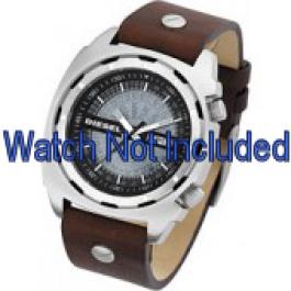 Bracelet de montre Diesel DZ1197 Cuir Brun 26mm