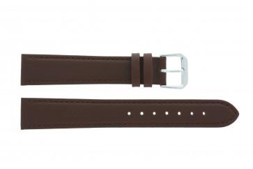 Bracelet de montre Universel 054.02 Cuir Brun 16mm
