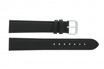 Bracelet de montre en cuir 10mm noir 054