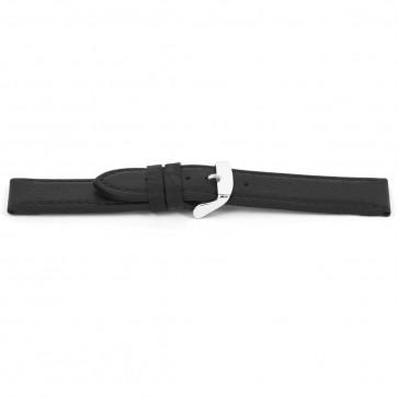 Bracelet de montre Universel H139 Cuir Noir 22mm
