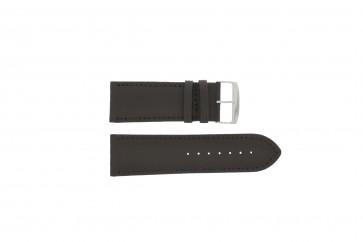 Bracelet de montre Universel 306.01 Cuir Noir 30mm