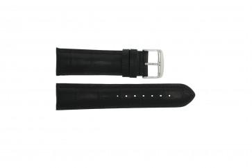 Bracelet de montre Universel 285R.01 Cuir Noir 22mm