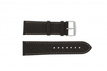 Bracelet de montre Universel 307L.02 XL Cuir Brun 22mm