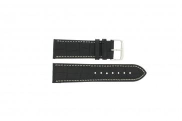 Bracelet de montre Universel 308L.01 XL Cuir Noir 20mm