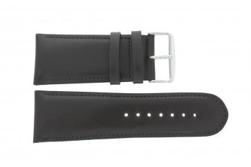 Bracelet de montre 61215B.27.30 Cuir Brun foncé 30mm + coutures défaut