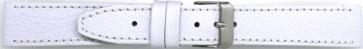 Bracelet de montre 816.09.28 Cuir Blanc 28mm + coutures blanches