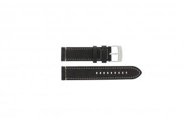 Bracelet de montre Camel BC51075 Cuir Brun foncé 22mm