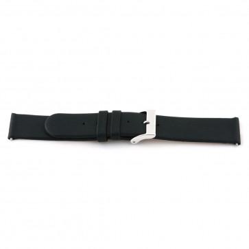 Bracelet de montre en cuir 18mm noir 800R01