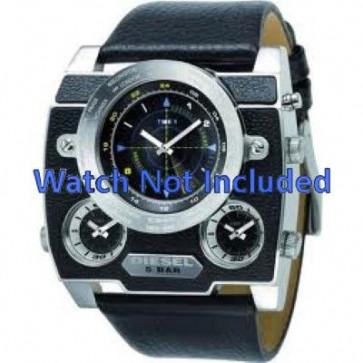 Bracelet de montre Diesel DZ1243 Cuir Noir 37mm