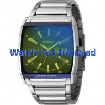 Diesel bracelet de montre DZ1251 Métal Argent 34mm