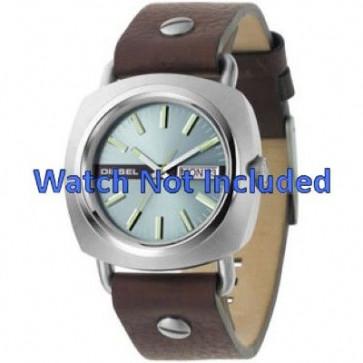 Bracelet de montre Diesel DZ2146 Cuir Brun 22mm