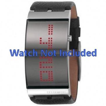 Bracelet de montre Diesel DZ7092 Cuir Noir 26mm