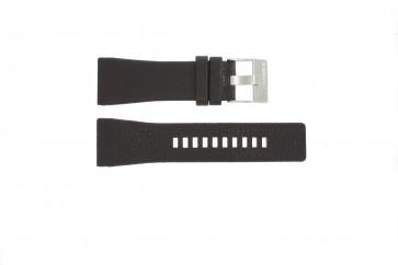 Bracelet de montre DZ1114 Cuir Brun 29mm