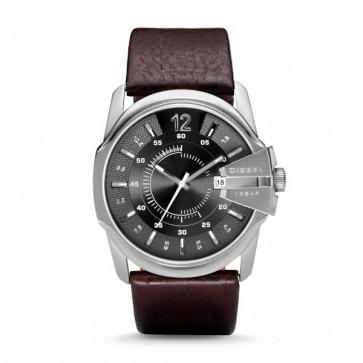 Diesel bracelet de montre DZ-1206 / DZ-1234 / DZ-1259 / DZ-1399 Cuir Brun 27mm