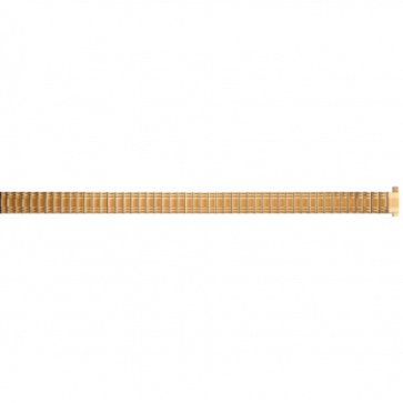 Bracelet de montre Universel EB607 Acier Plaqué or 8-10mm