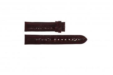 Festina bracelet de montre F16021/4 Cuir Bordeaux 18mm