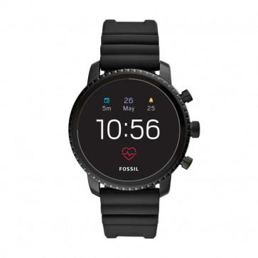 Fossil FTW4018 Q Explorist HR GEN 4 Digital Smartwatch Homme Noir