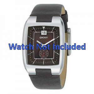 Bracelet de montre DKNY NY1319 Cuir Brun 20mm