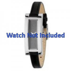 Bracelet de montre DKNY NY3156 Cuir Noir 9mm