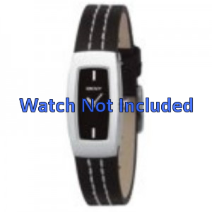 Bracelet de montre DKNY NY3296 Cuir Noir 15mm