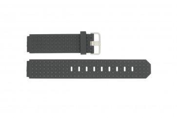 Bracelet de montre Jacob Jensen 400 / 420 Caoutchouc Noir 12mm