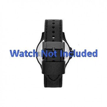 Bracelet de montre Fossil JR1448 Cuir Noir 22mm