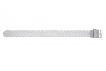 Perlon 20mm blanc
