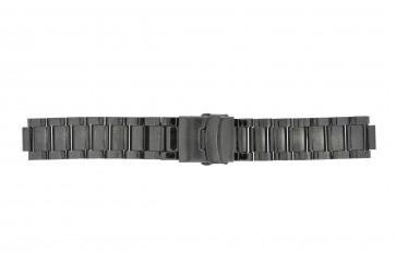 Bracelet de montre Q&Q QQ13ST-AC-ST Acier Gris anthracite 13mm