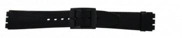 Bracelet de montre Swatch (alt.) SC15.01 Cuir Noir 16mm
