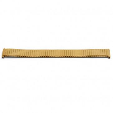 Bracelet de montre Universel V60E Acier Plaqué or 16-18mm variabel
