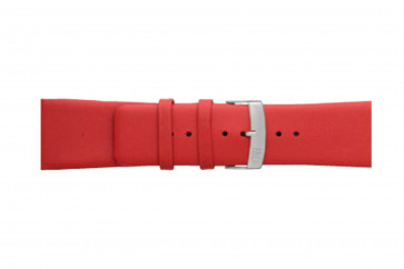 Morellato bracelet de montre Large X3076875083CR30 / PMX083LARGE30 Cuir souple Rouge 30mm