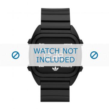 Adidas bracelet de montre ADH2726 Silicone Noir 22mm