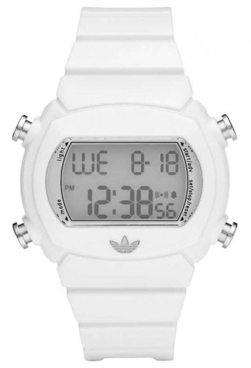 Adidas bracelet de montre ADH6123 Plastique Blanc 22mm