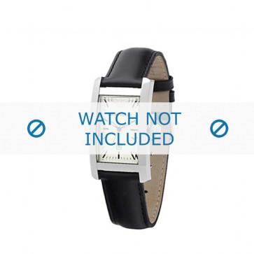 Armani bracelet de montre AR-0103 Cuir Noir 14mm