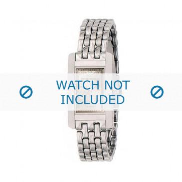Armani bracelet de montre AR-0107 Métal Argent 14mm