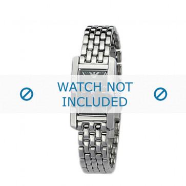 Armani bracelet de montre AR-0116 Métal Argent 14mm