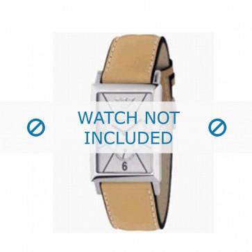 Bracelet de montre Armani AR0128 Cuir Cognac 20mm