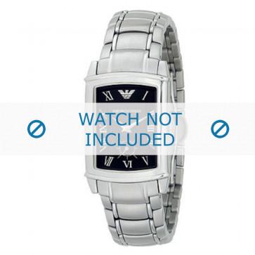 Armani bracelet de montre AR-0245 Métal Argent 21mm