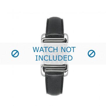 Armani bracelet de montre AR-0304 Cuir Noir 12mm