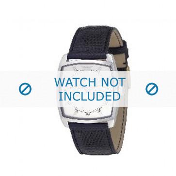 Armani bracelet de montre AR-0309 Cuir Noir 22mm