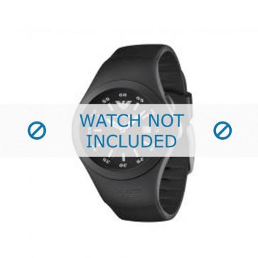 Armani bracelet de montre AR-1100 En caoutchouc Noir 16mm